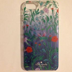 kate ♠️ hummingbird & 🌺🌺🌺 cover iPhone 6+/7+/8+